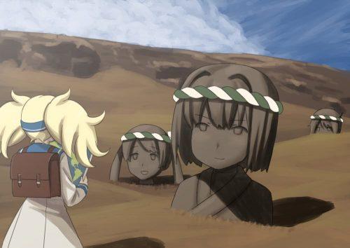 二次 エロ 萌え ゲーム 艦隊これくしょん 擬人化 艦娘 艦これ ガンビア・ベイ 金髪 ツインテール 短パン・ショートパンツ・ホットパンツ 巨乳 サイハイブーツ(ニーハイブーツ) ニーソ むりむり教  落花生みたいな口しやがって 迷子 二次エロ画像