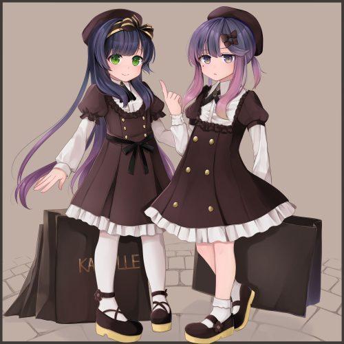 二次 エロ 萌え ゲーム 艦隊これくしょん 艦これ 擬人化 松輪 ロリ 貧乳 帽子 セーラー服 そばかす 紫髪 手袋 ハイエース 安全 二次エロ画像