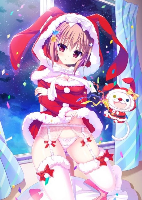 二次 萌え エロ フェチ コスプレ クリスマス 冬 サンタクロース サンタさん 二次エロ画像