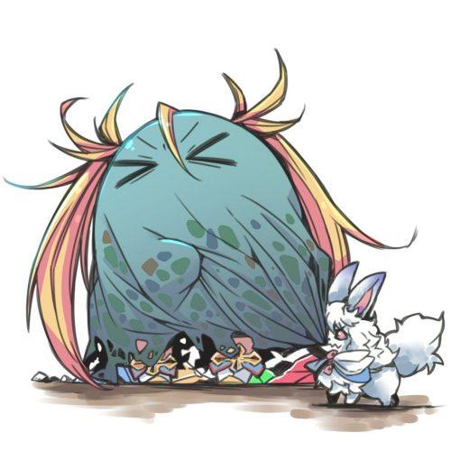 二次 萌え エロ Fate Grand Order アニメ ゲーム ビジュアルノベル ブラダマンテ 金髪 巨乳 ツインテール 三つ編み レオタード プリケツダマンテ ビキニアーマー 二次エロ画像
