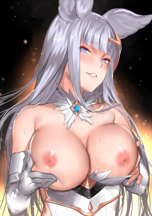 二次 エロ 萌え おっぱい パイリフト 巨乳 乳寄せ 二次エロ画像